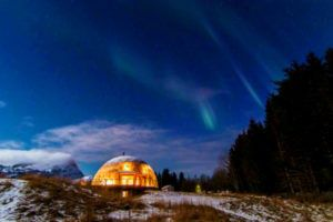 Norwegian Family Lives In A Sustainable Glass Dome In The Arctic Circle