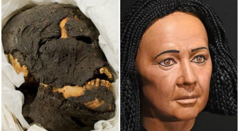 4,000-Year-Old Egyptian Mummy Gets A New Face