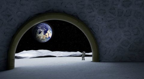 European Space Agency Wants To Build 50 m High Dome Lunar Temple
