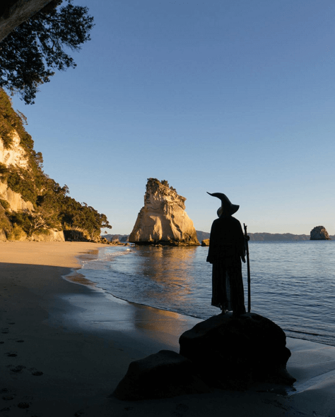 Indian Photographer Dresses Up As Gandalf For Amazing Images At New Zealand's Beautiful Lord Of The Rings Filming Locations