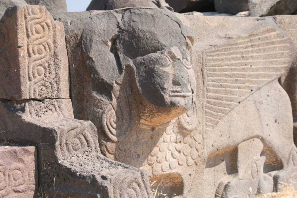 Massive Footprints At Ain Dara Temple Ruins Spark Claims That Giants Walked The Earth