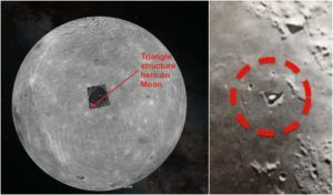 Triangular, Unnatural Structures Spotted On Moon: Experts Baffled