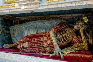 These Fantastically Embellished Skeletons Of Catholicism's Martyrs Will Surprise You