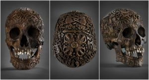 Mystery Behind The 300 Year Old Intricately Carved Skull