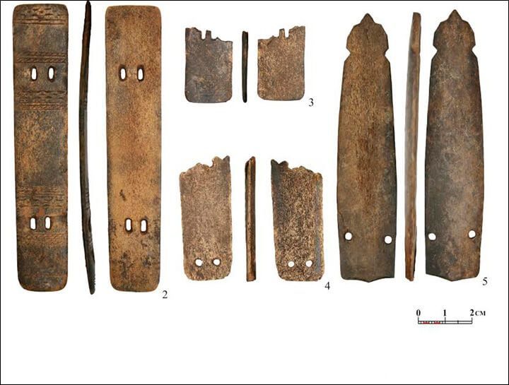 2,000- Year-Old Warrior Armour Made Of Reindeer Antlers Found On The Arctic Circle