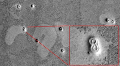 Evidence Of Ancient City Ruins Discovered On Mars: Claim Researchers