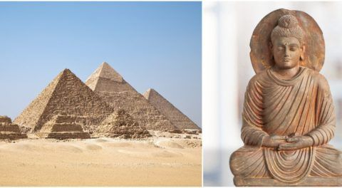 Historical Script Reveal Beliefs About Buddhism In Ancient Egypt And Meroe