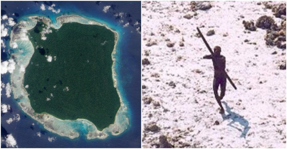 North Sentinel Island Map