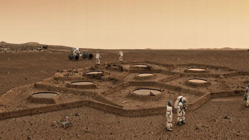 The First Mars Colony Could Be 3D Printed From Red Planet Dust: Claim Researchers