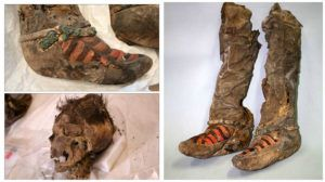 "Ancient Mongolian Mummy Buried In ""Adidas Boots"" 1,100 Years Ago"