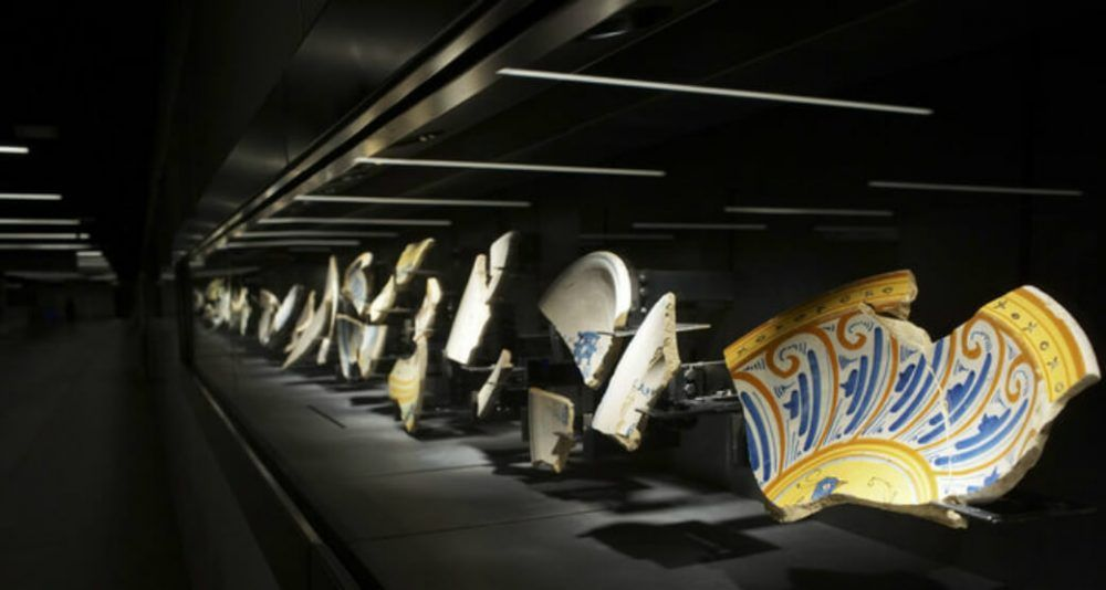 Ancient Treasures Discovered During Metro Dig On Show In Rome