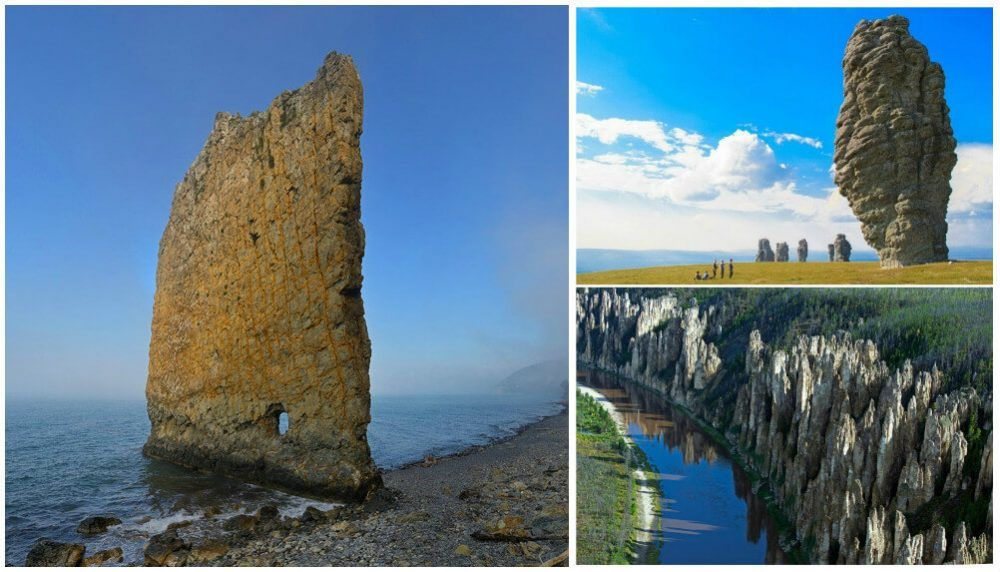 Mysterious And Stunning Stone Pillars Of Russia