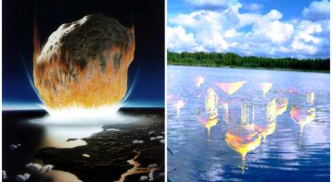The Smerdyachee Lake: Mysterious Ancient Impact Crater Discovered Near Moscow