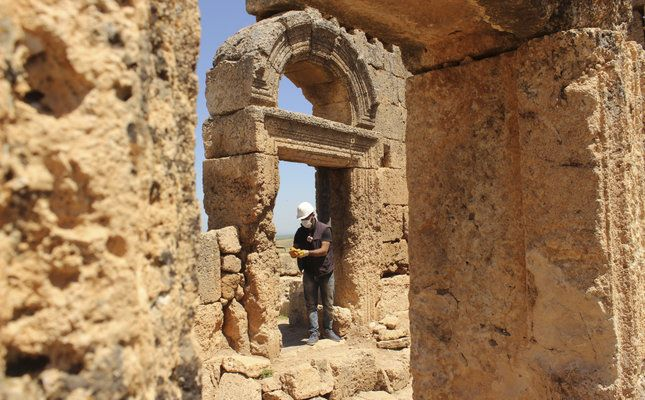 Temple to Mysterious Roman Deity Discovered In Turkey