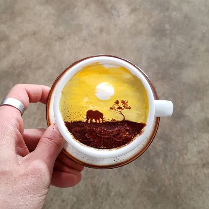 Cremart: Exclusive Coffee Art Of South Korean Barista