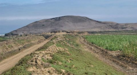 Traces Of South America's Earliest People Found Under Ancient Dirt Pyramid