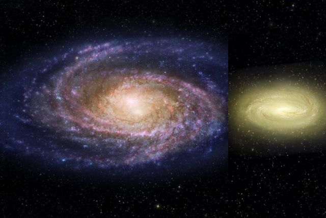 Giant, 'Dead' Galaxy Puzzles Astronomers