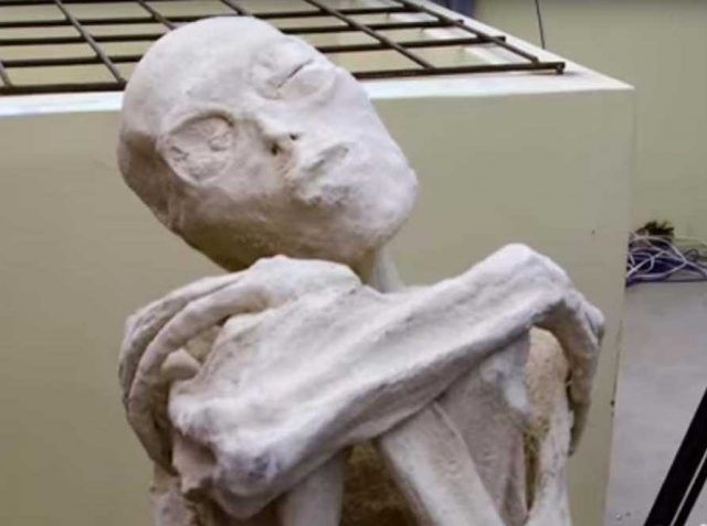 Three-Fingered Mummified Humanoid Found In Peru