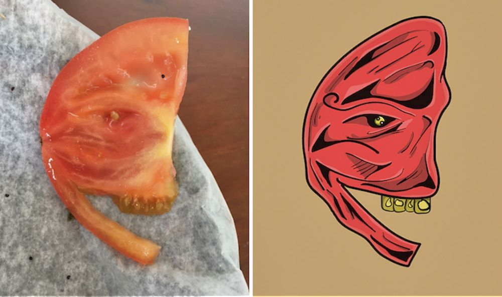 Artist With Rare Psychological Phenomenon Illustrates The Faces He Sees In Ordinary Objects