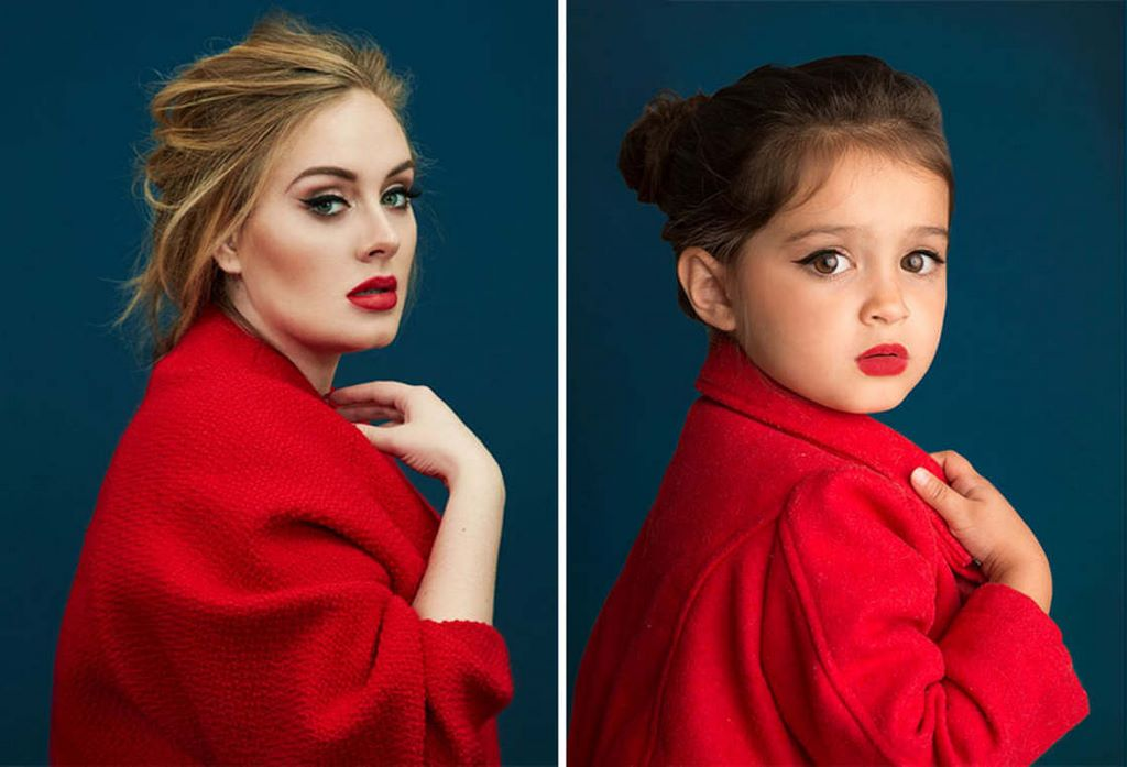 3-Year-Old Instagram Star Dresses Up As Famous Women To Support Her Sick Grandmother