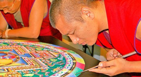 The Mandala: Why Do Buddhist Monks Destroy It?