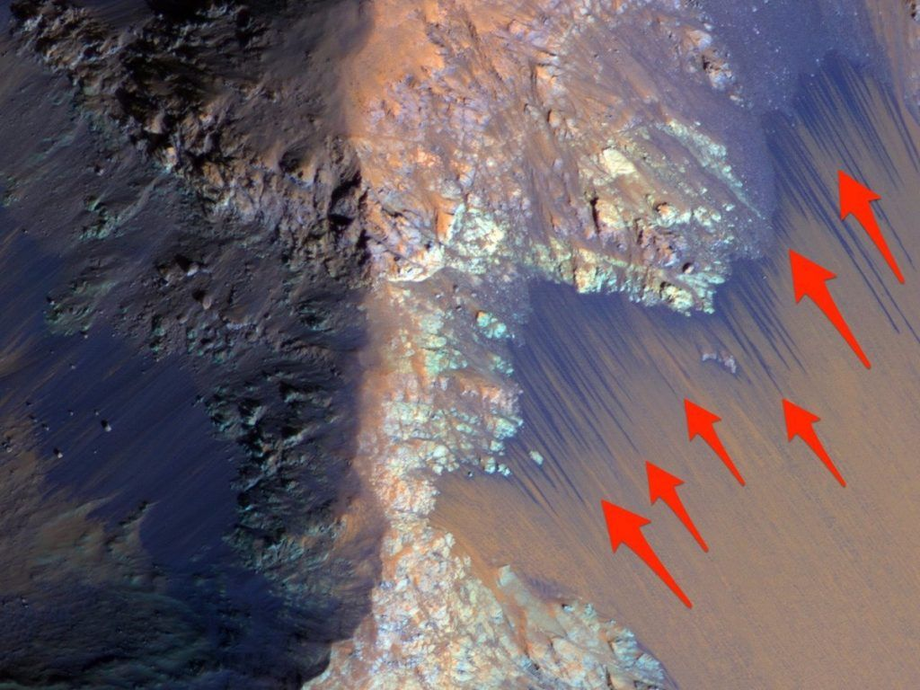 If Extraterrestrials Existed On Mars, They Might Have Lived In Oasis-Like Pools