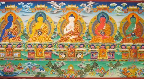 Symbolism Of The Five Dhyani Buddhas
