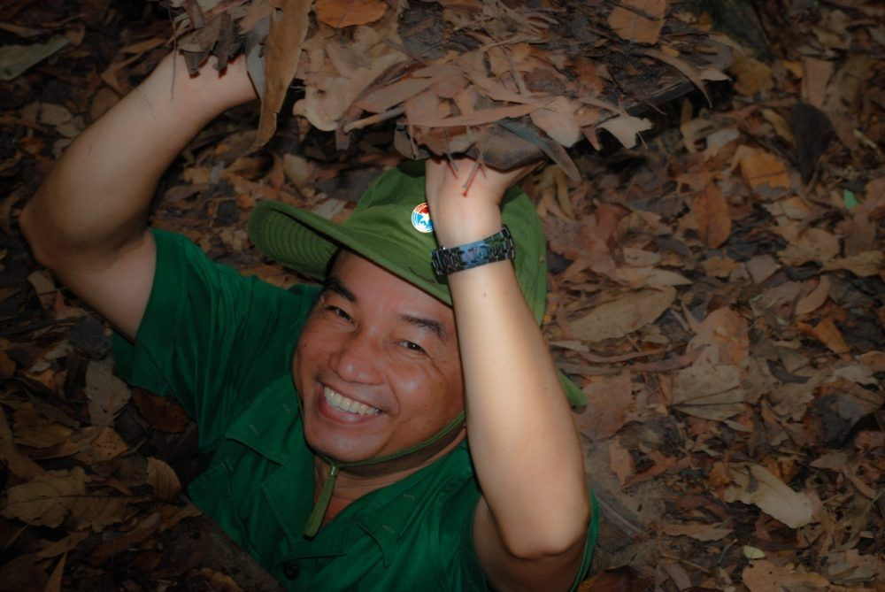 The Underground Warfare: Vietnam's Cu Chi Tunnels