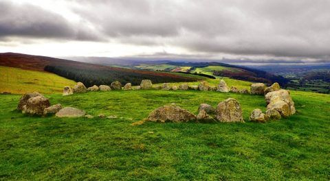 The Ancient Sacred Sites Of Wales: Moel Ty Uchaf Stone Circle