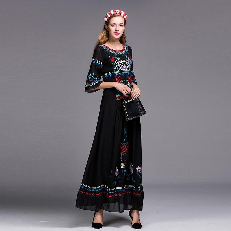 long dress kaftans