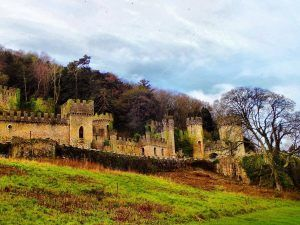 Gwrych Castle: The Hauntingly Beautiful Abandoned Place