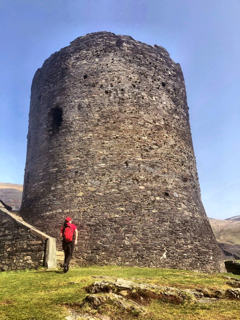 Amazing Ruins Of Dolbadarn Castle
